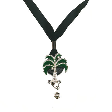Palm Tree Lanyard - SassyBadge