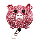 Pig ID Badge Reel