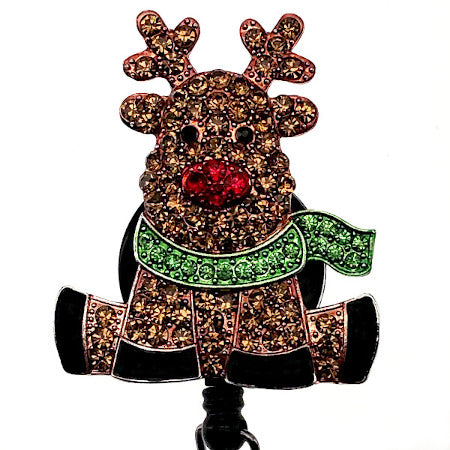 Reindeer ID Badge Reel