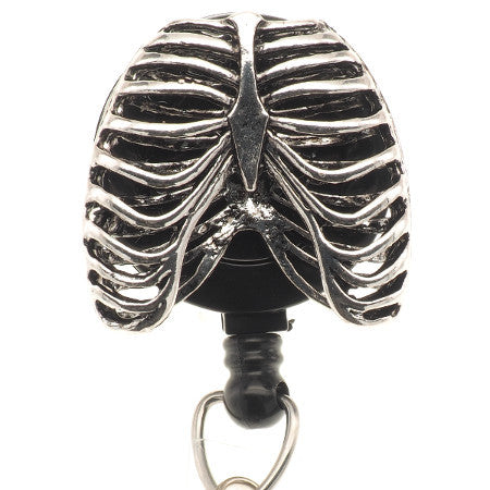 Rib Cage ID Badge Reel - SassyBadge