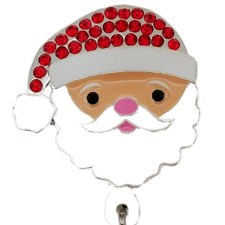 Santa ID Badge Reel - SassyBadge