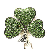 Shamrock ID Badge Reel - SassyBadge