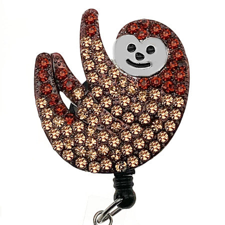 Sloth ID Badge Reel
