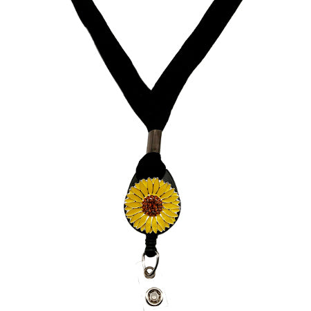 Sunflower Lanyard