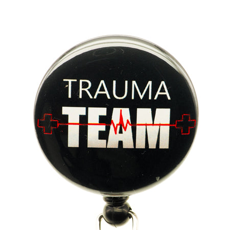 Trauma Team ID Badge Reel - SassyBadge