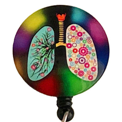 Whimsicals Lungs ID Badge Reel