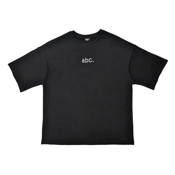 abc. oversized t-shirt - black
