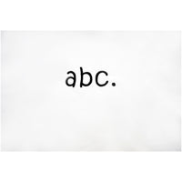 abc. oversized crewneck - white