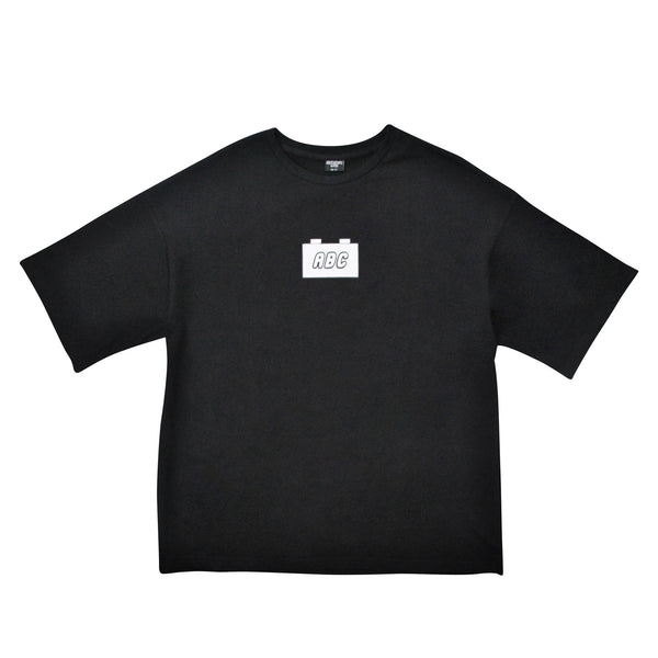 the bloc. oversized t-shirt - black