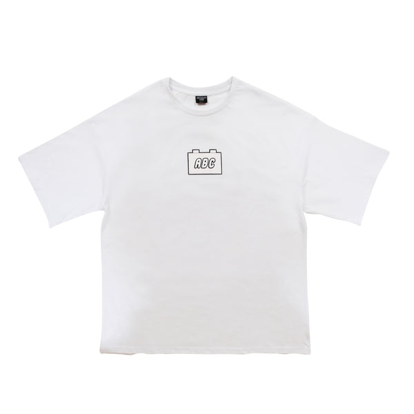 the bloc. oversized t-shirt - white