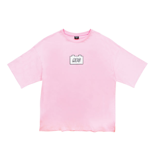 the bloc. oversized t-shirt - light pink