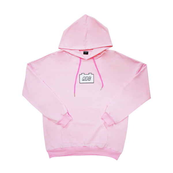 the bloc. oversized hoodie - light pink