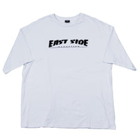 east side oversized t-shirt  (white)