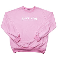 east side crewneck (pink)