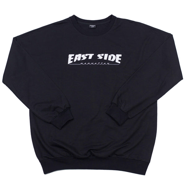east side crewneck (black)