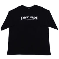 east side oversized t-shirt  (black)