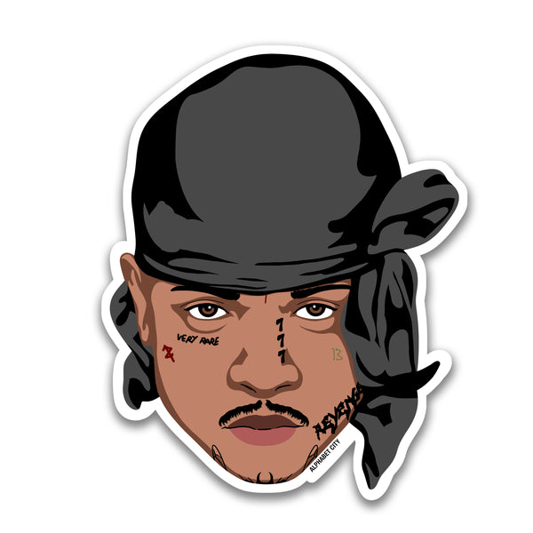 Ski Mask the Slump God - Sticker