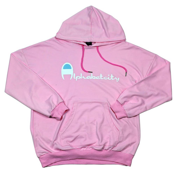 🏆 . oversized hoodie - pink