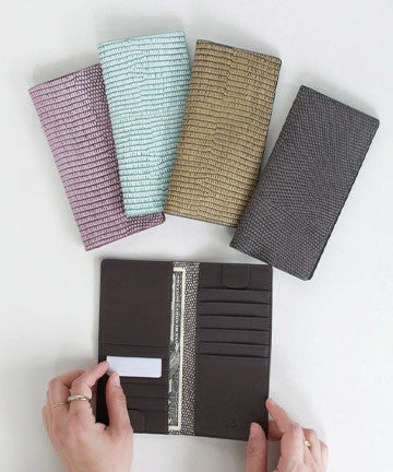 LK0031 leather LONELY SLIM WALLET 론리 장지갑  [5COLOR]