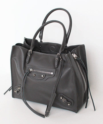 PREMIUM CALFSKIN PAPIER ZIPPER MEDIUM 파피에르 지퍼 미듐 [3COLOR]