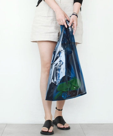 LeS-1518 CLEAR BEACH TOTE BAG / Large  클리어 비치 토트백/라지 [7COLOR]