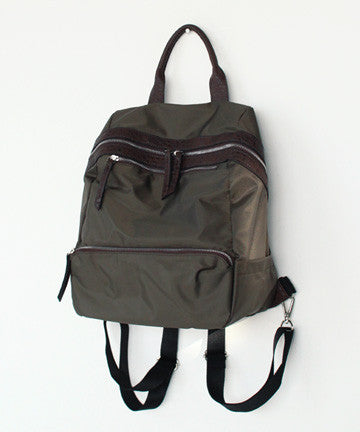 PS0125  TWILL GLEE BACKPACK 트윌 글리 백팩  [3COLOR]