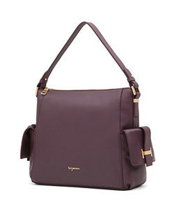 LeJ-1605  ROSIE LEATHER SHOULDER BAG 로지 레더 숄더백  [4COLOR]