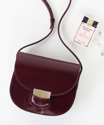 MNS1019 TROTTEUR MINI CROSSBODY BAG 트로터 미니 크로스백 [2COLOR]