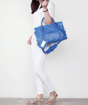 PREMIUM CALFSKIN NEW GIANT MEDIUM [Lavender Blue] 뉴자이언트 미디움  [라벤더블루]