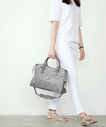 PREMIUM CALFSKIN NEW GIANT MEDIUM [Cement Grey] 뉴자이언트 미디움  [시멘트그레이]