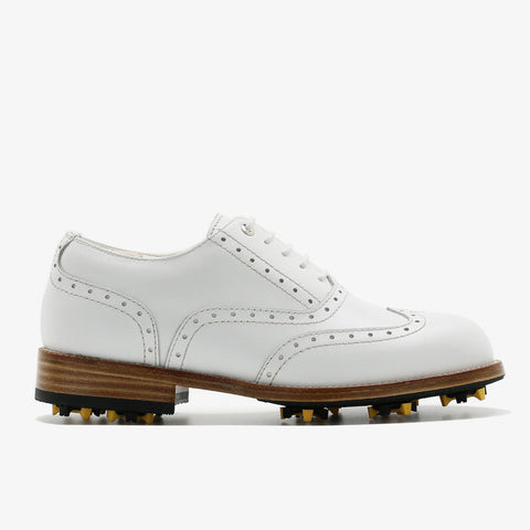 Classic Womens Golf Shoes 172201 Matt WHITE