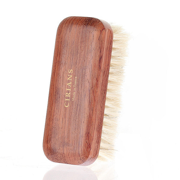 [CIRIANS] Natural Horsehair Brush(Small) 12CM SHOES CARE BRUSH / made in FRANCE 시리안스 천연 말털 브러쉬(S) (프랑스)