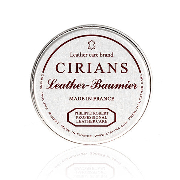 [CIRIANS] Premium Leather Baumier 40ml SHOES CARE LEATHER WAX / made in FRANCE 시리안스 프리미엄 가죽케어왁스 (프랑스)