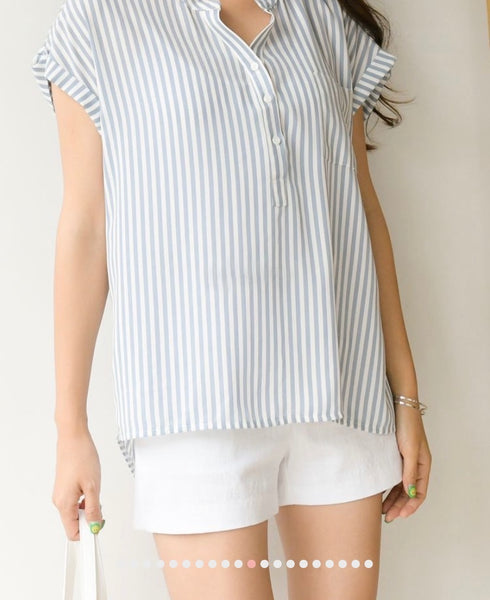 Stripes pattern blouse