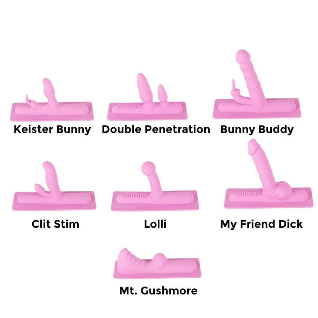 The Whole Shebang Silicone Attachment Set