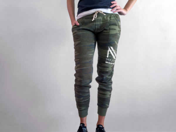 "The ""Cloud 9"" - Camo Fleece Jogger"
