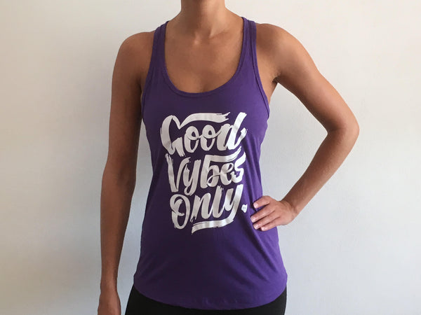 Good Vybes Only - Go Mode Racerback Tank