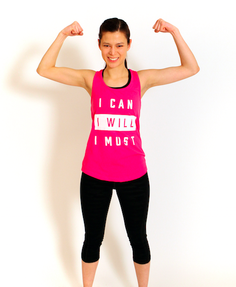 "The ""I CAN"" - Go Mode Racerback Tank"