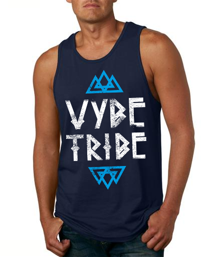 "The ""VYBE TRIBE"" - Men's Premium Fit Tank"