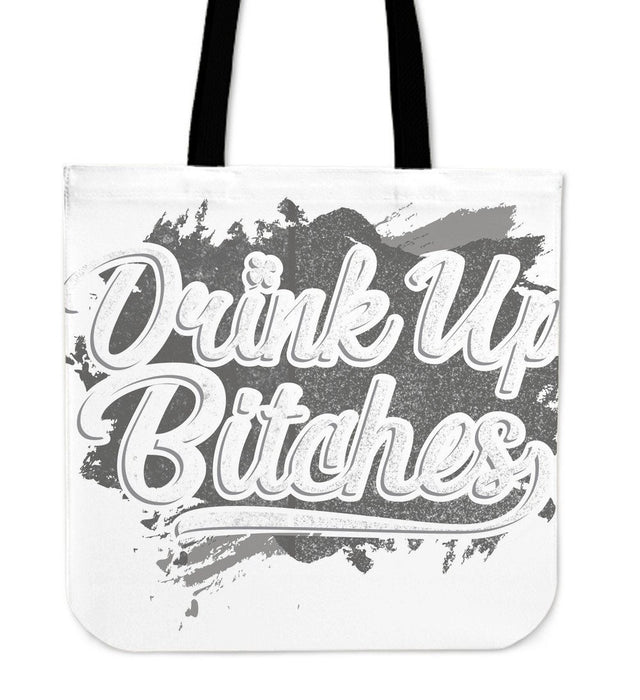 Drink Up Cream Tote Bag