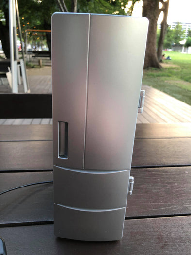 Drink Cold Beer On The Go Mini Portable USB Beer Fridge