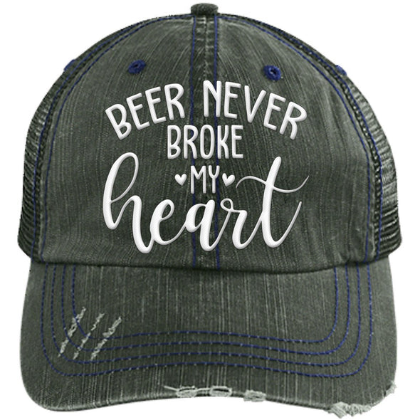 Beer Never Broke My Heart Cap - Last Beer Standing