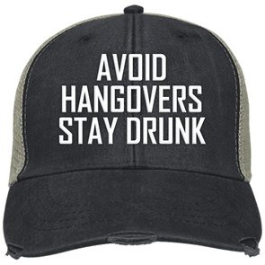 Avoid Hangovers Adams Ollie Cap - Last Beer Standing