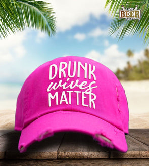 Drunk Wives Pink Cap - Last Beer Standing