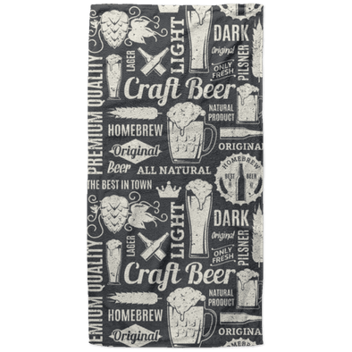 Craft Beer High Quality Beach Towel