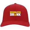 Designated Drunk Flex Fit Twill Baseball Cap