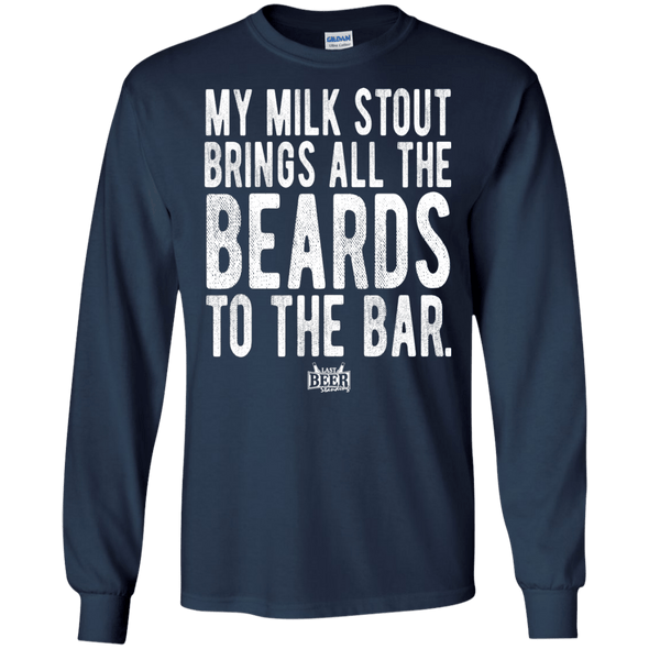 My Milk Stout Brings All The Beards