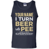 I Turn Beer Into Pee Name Tee