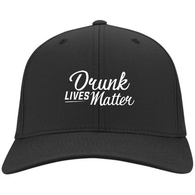 Drunk Lives Matter Hat Flex Fit Twill Baseball Cap