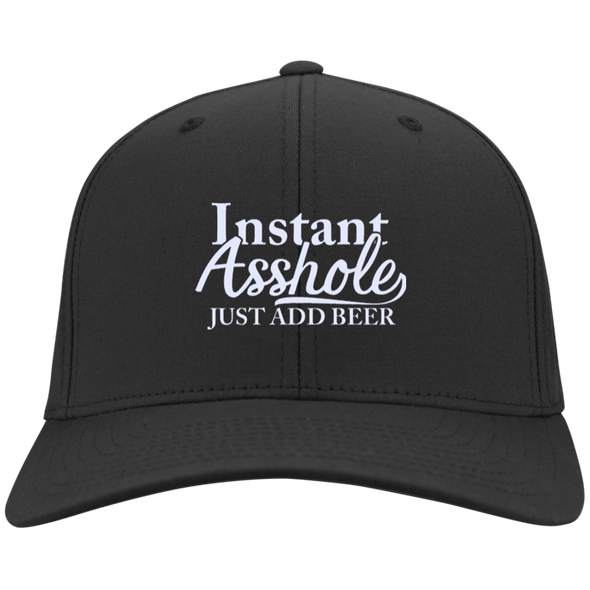 Instant Asshole Port Authority Flex Fit Twill Baseball Cap